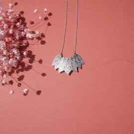 Collier DIGITALE métal - Amélie Blaise