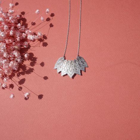 DIGITALE metal necklace