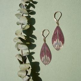 PHYSALIS Wood earrings - Amélie Blaise