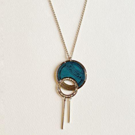 Céleste wood necklace
