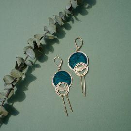 Céleste Mechanic wood earrings - Amélie Blaise