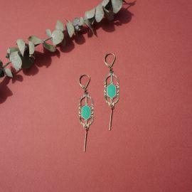 TOHU BOHU veronese earrings - Amélie Blaise