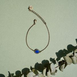 Sphinx blue bracelet - Amélie Blaise