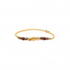 mini balls stretch bracelet Amor - Franck Herval