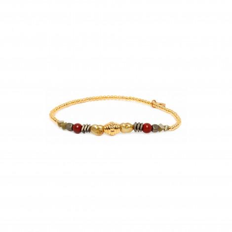 mini balls stretch bracelet Amor