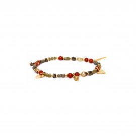 multi-dangle stretch bracelet Amor - Franck Herval
