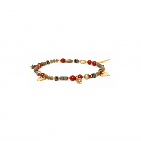 multi-dangle stretch bracelet Amor