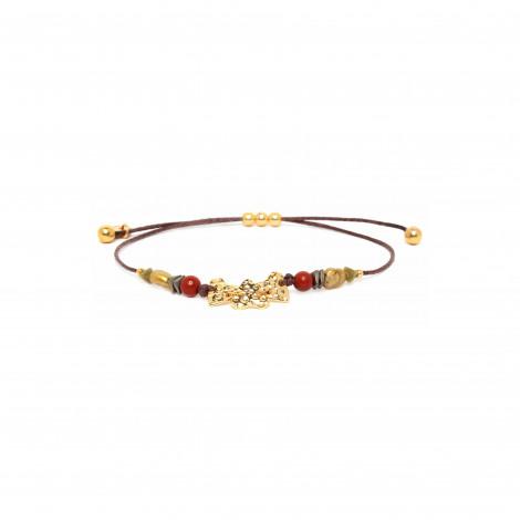 3 heart macrame bracelet Amor