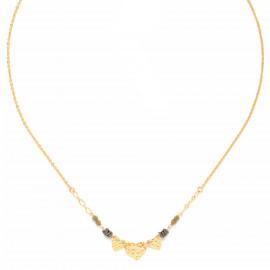 3 hearts necklace Amor - Franck Herval