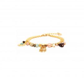 bracelet fermoir mousqueton multipampilles Helen - Franck Herval