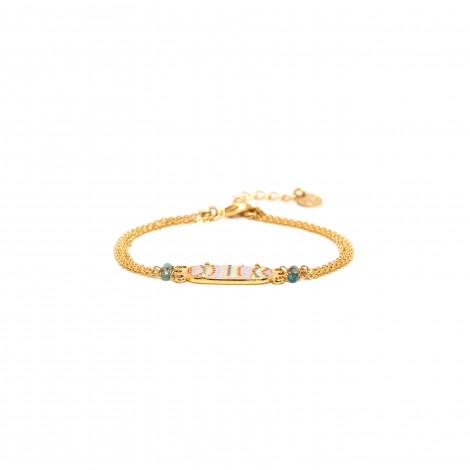 3 row chain bracelet Jahia