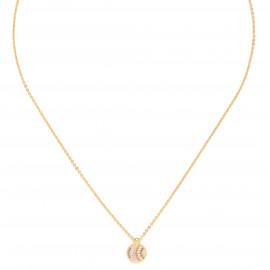 round mini thin necklace Jahia - Franck Herval