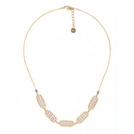 5 oval elements necklace Jahia - Franck Herval