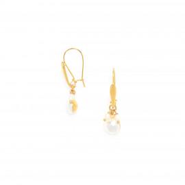 boucles d'oreilles mini BO crochet perles Maria - Franck Herval