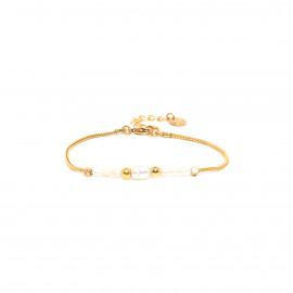 bracelet fermoir mousqueton petites perles d'eau douces Maria - Franck Herval