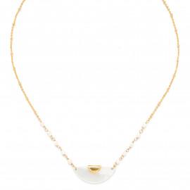 """""""fan shape"""" necklace Maria - Franck Herval"""