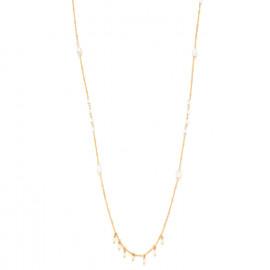 collier long mini perles d'eau douce Maria - Franck Herval