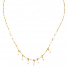 collier très court mini perles d'eau douce Maria - Franck Herval