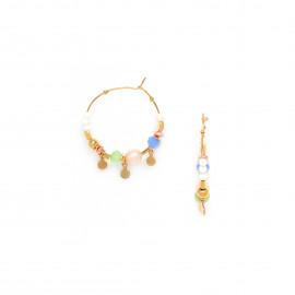 boucles d'oreilles créoles fines Mya - Franck Herval