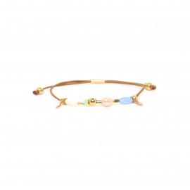 bracelet macramé ajustable Mya - Franck Herval