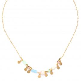 small disc dangle necklace Mya - Franck Herval