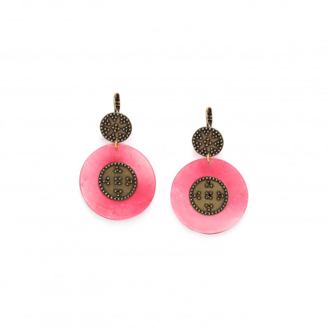 XL disc french hooks pink Scarlett