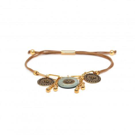 tube lock bracelet blue Scarlett