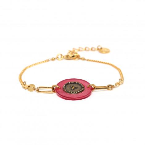 simple bracelet pink Scarlett