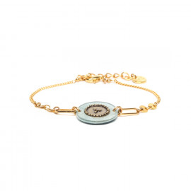 simple bracelet blue Scarlett - Franck Herval