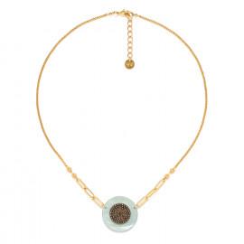 short disc necklace blue Scarlett - Franck Herval