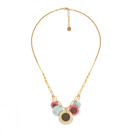 multi-disc necklace Scarlett - Franck Herval