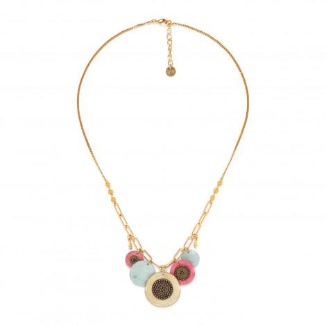 multi-disc necklace Scarlett