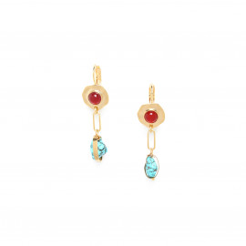 french hooks with turquoise nuggets Sora - Franck Herval