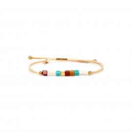 bracelet macramé cubes multicolores Sora - Franck Herval