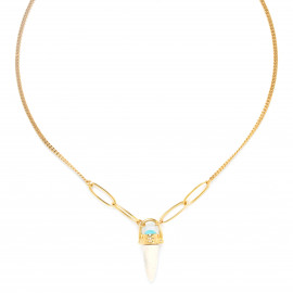 necklace with fang pendant Sora - Franck Herval