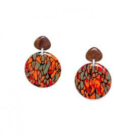 grandes boucles d'oreilles Amazonia - Nature Bijoux