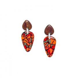 boucles d'oreilles flêche Amazonia - Nature Bijoux