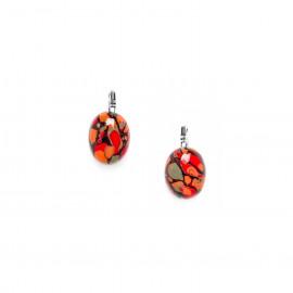 petites boucles d'oreilles ovales Amazonia - Nature Bijoux