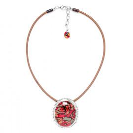 collier pendentif ovale Amazonia - Nature Bijoux