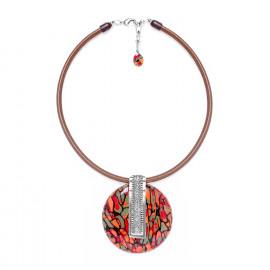 collier pendentif rond Amazonia - Nature Bijoux