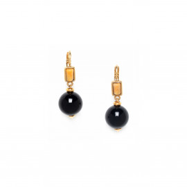 boucles d'oreilles perle ronde Bengali - Nature Bijoux