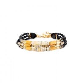 bracelet 3 rangs Bengali - Nature Bijoux