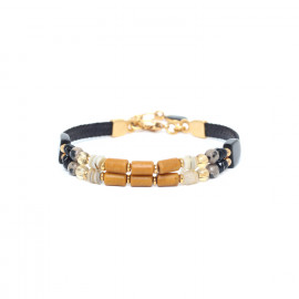 bracelet 2 rangs Bengali - Nature Bijoux