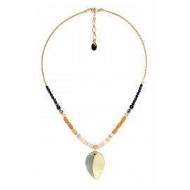 collier pendentif feuille Bengali - Nature Bijoux