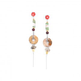 jasper ring earrings Djimini - Nature Bijoux