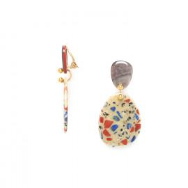 boucles d'oreilles clips 2 pcs Gaudi - Nature Bijoux