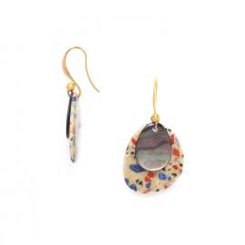 boucles d'oreilles crochet Gaudi - Nature Bijoux