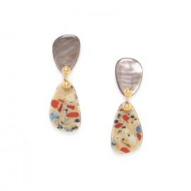 petites boucles d'oreilles 2 pcs Gaudi - Nature Bijoux