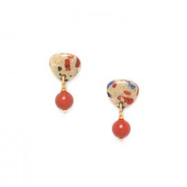 boucles d'oreilles perle ronde Gaudi - Nature Bijoux