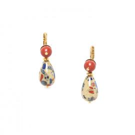 boucles d'oreilles goutte Gaudi - Nature Bijoux